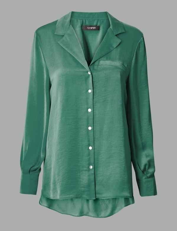 bd496b6a11caf9 Womens Green Shirts   Blouses