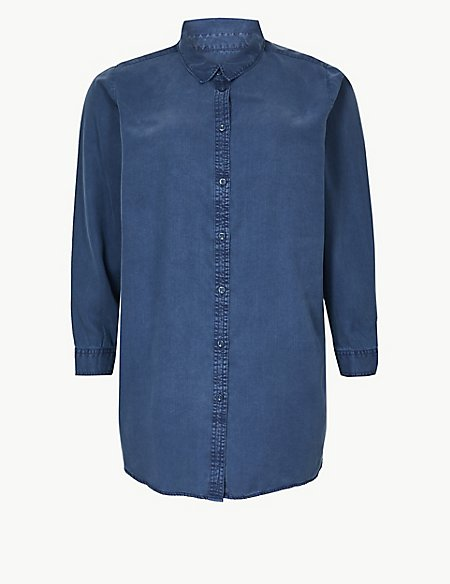 CURVE Long Sleeve Soft Touch Shirt