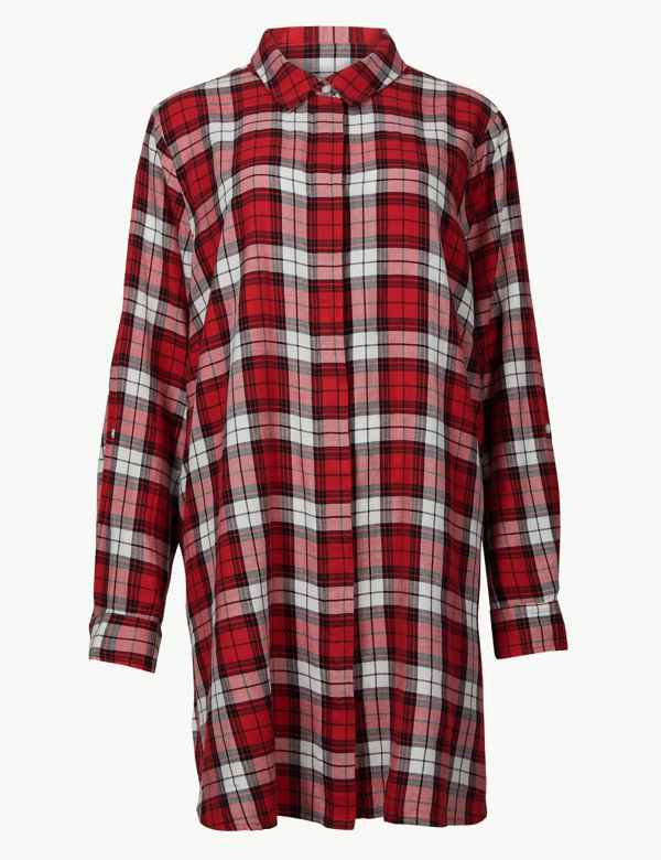 70f6f48f51a4d Sale. Sparks. CURVE Checked Long Sleeve Shirt. Online Only