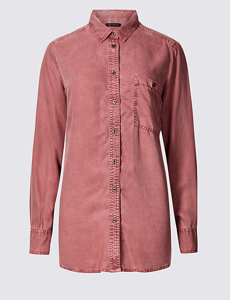 Tencel Long Sleeve Shirt