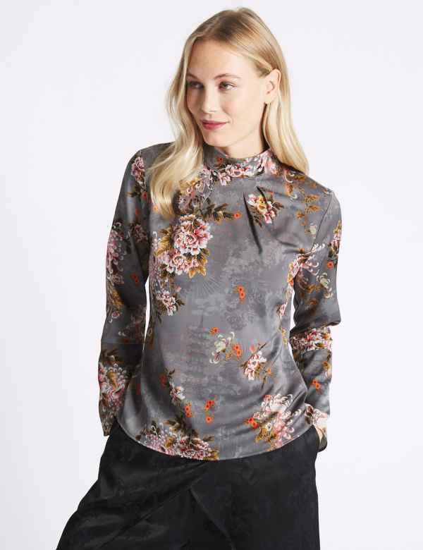 ab460d65f90 Womens Blouses | Silk, Lace & Floral Ladies Blouses| M&S