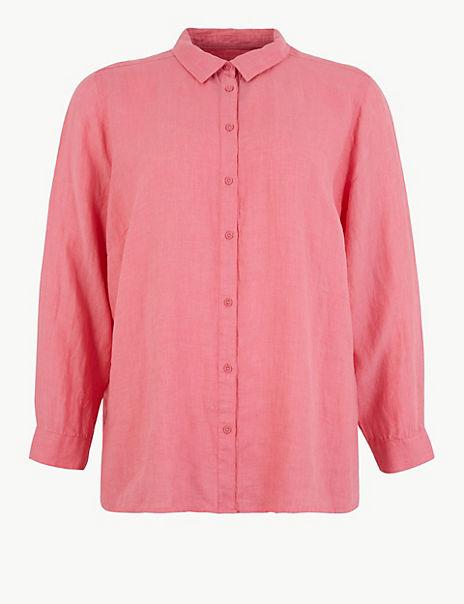 CURVE Pure Linen Shirt
