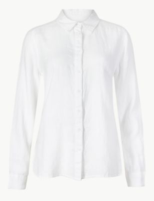 bf2946e81 Pure Linen Button Detailed Shirt £27.50