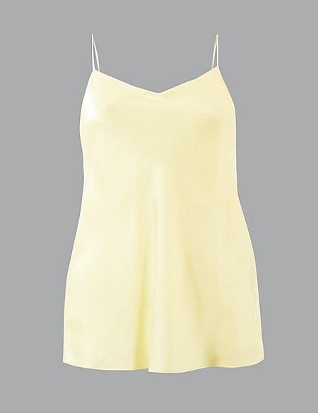 Pure Silk V-Neck Camisole Top