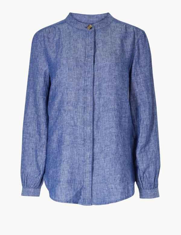 d65683bfe3d Womens Linen Clothing | Ladies Linen Suits & Tunics | M&S