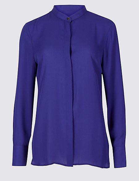 Round Neck Long Sleeve Shirt