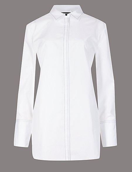 Pure Cotton Long Sleeve Shirt