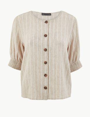 f113e63a6047b4 Womens Linen Clothing | Ladies Linen Suits & Tunics | M&S