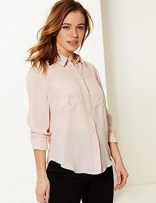 PETITE Long Sleeve Shirt