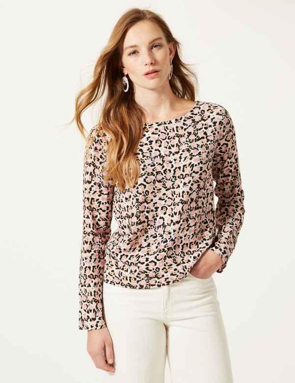 3ad4089e5c4e83 Animal print | Women's Tops & T Shirts | M&S