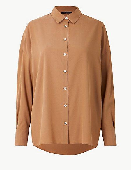 Oversized Long Sleeve Shirt