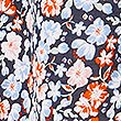 Pure Cotton Floral Print Long Sleeve Shirt, BLUE MIX, swatch