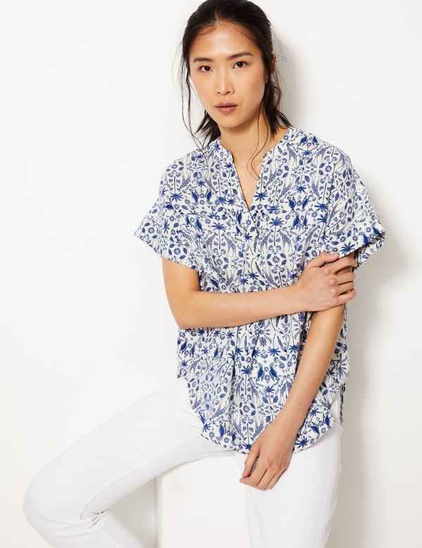 c1e69be83b M S Collection Womens Shirts   Blouses
