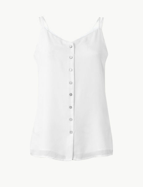 Button Detailed Camisole Top
