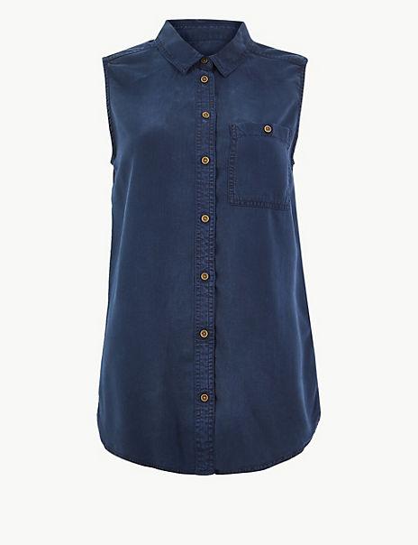Button Detailed Shirt
