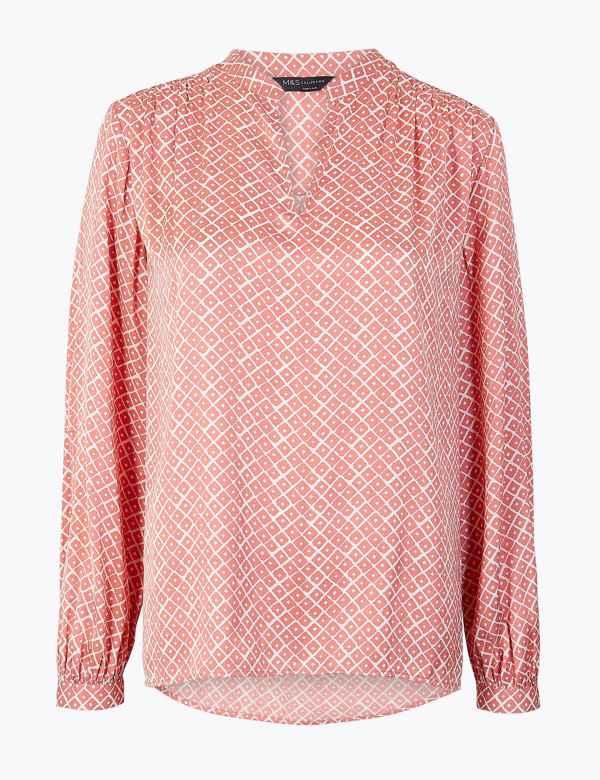 82160f0b Womens Pink Tops & T-shirts | M&S