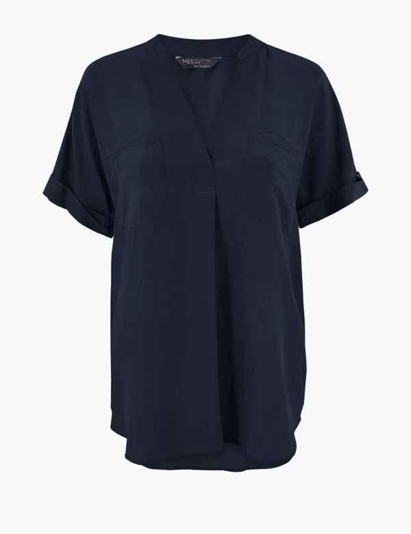 cdfa085ffae Petite Tops & T-Shirts Blouses Petite