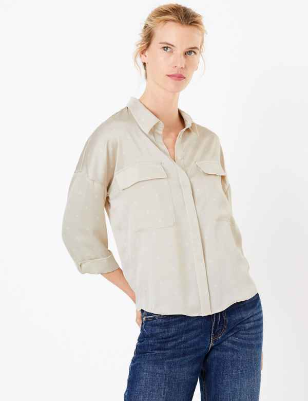 a9f573f8ca8 Women's Tops & T Shirts | M&S