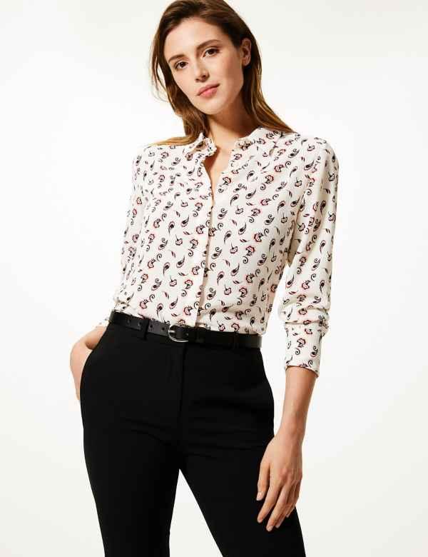 3ff94c5ae9e192 Long sleeve | Women's Tops & T Shirts | M&S