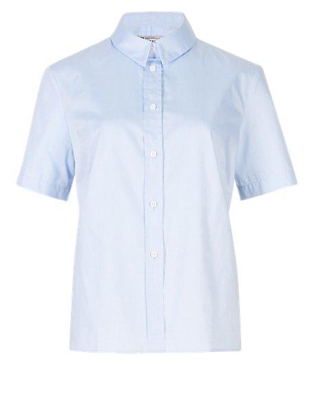 Pure Cotton Short Sleeve Shirt