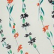 CURVE Pure Cotton Floral Print Shirt , IVORY MIX, swatch