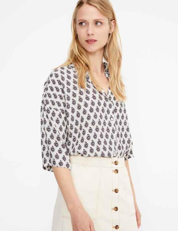 da035bb389f756 3/4 sleeve | Women's Tops & T Shirts | M&S