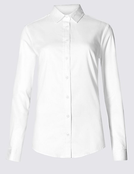 Cotton Rich Perfect Shirt