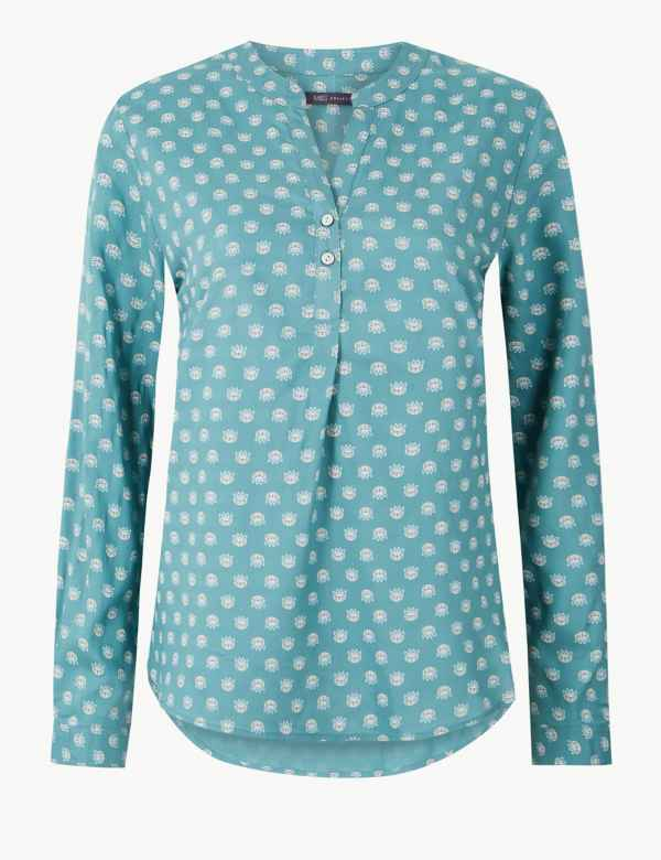 ece4fe16af798 M S Collection Womens Shirts   Blouses