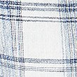 Cotton Rich Checked Camisole Top, BLUE MIX, swatch
