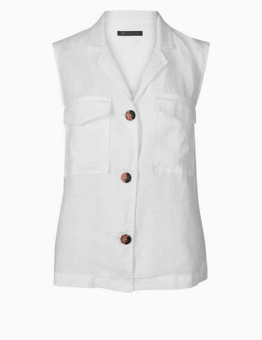 8d3acb1b5f Pure Linen Shirt