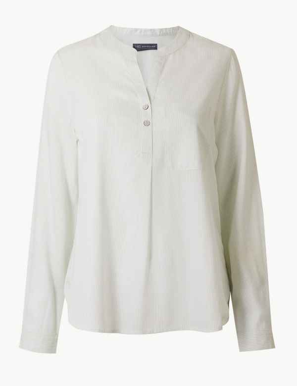 2af62fc4a0c316 M S Collection Womens Shirts   Blouses