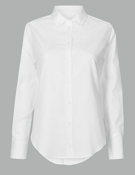 Product images. Skip Carousel. Pure Cotton Long Sleeve Shirt 15ff7f22dd7
