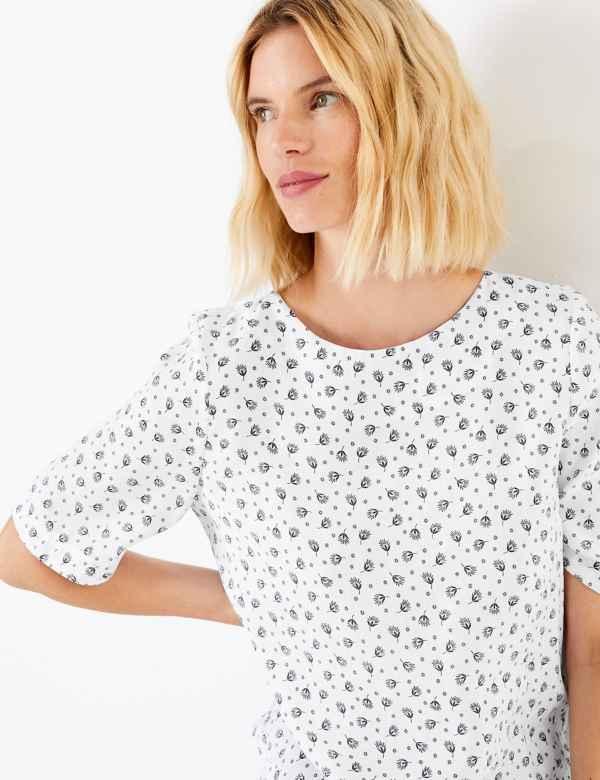 b58942a4bf5b3e Tops & T-Shirts | Women | M&S IE