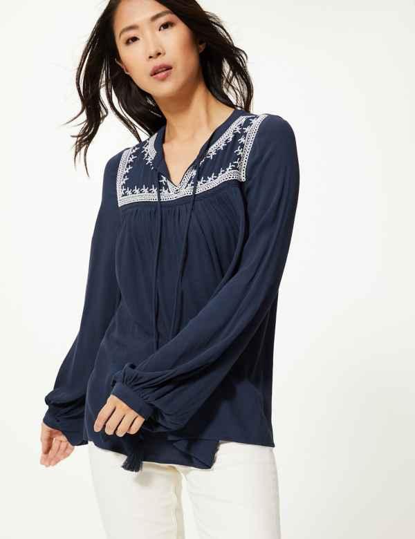 d18f59724a8 Shirts & Blouses | Women | M&S IE