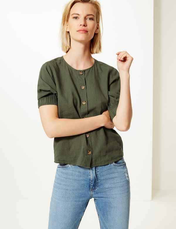 cc3869ae924 Women's Shirts & Blouses | M&S
