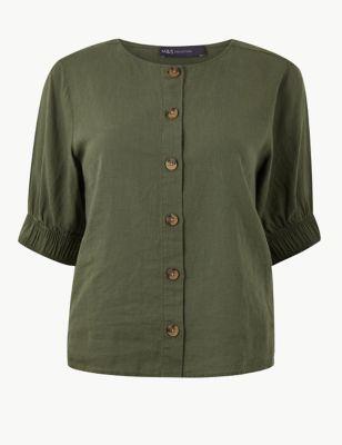 052656d5a1670d Linen Rich Blouse £14.50 - £25.00