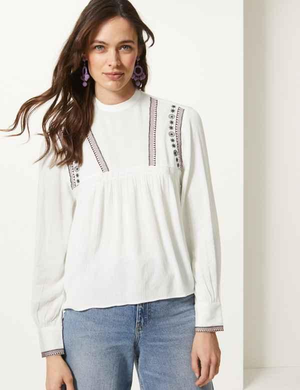 d49bde06145 Womens Cream Shirts & Blouses| M&S