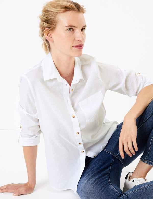 71a6f92a911f2d Women's Shirts & Blouses | M&S