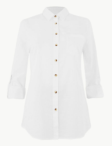 Pure Cotton Relaxed Fit Shirt