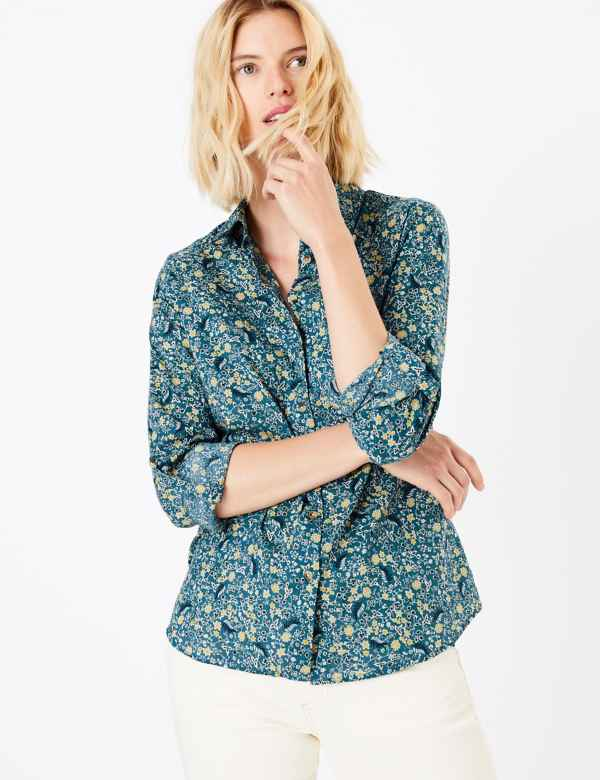 a8437082fb3 Women's Shirts & Blouses | M&S