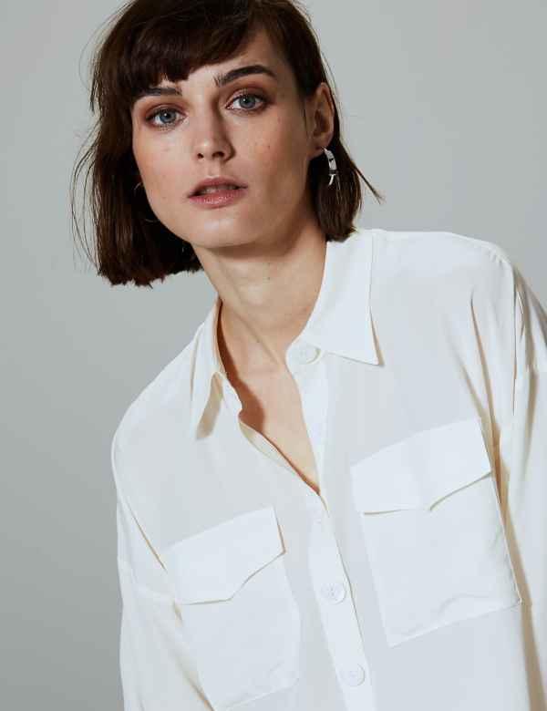 5ff5a89facc185 Womens Silk Shirts   Blouses