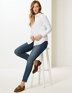 Cotton Rich Long Sleeve Shirt