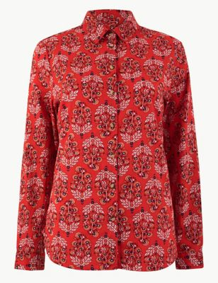 f99c2daa3 Womens Blouses   Silk, Lace & Floral Ladies Blouses  M&S