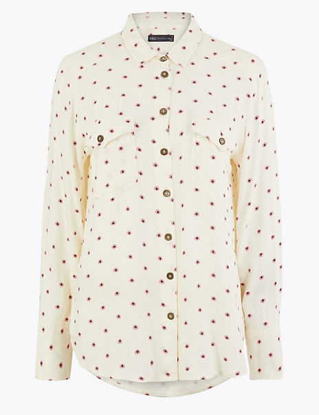 Printed Relaxed Fit Shirt