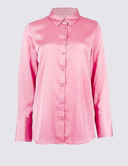 Deep Cuff Sleeve Shirt
