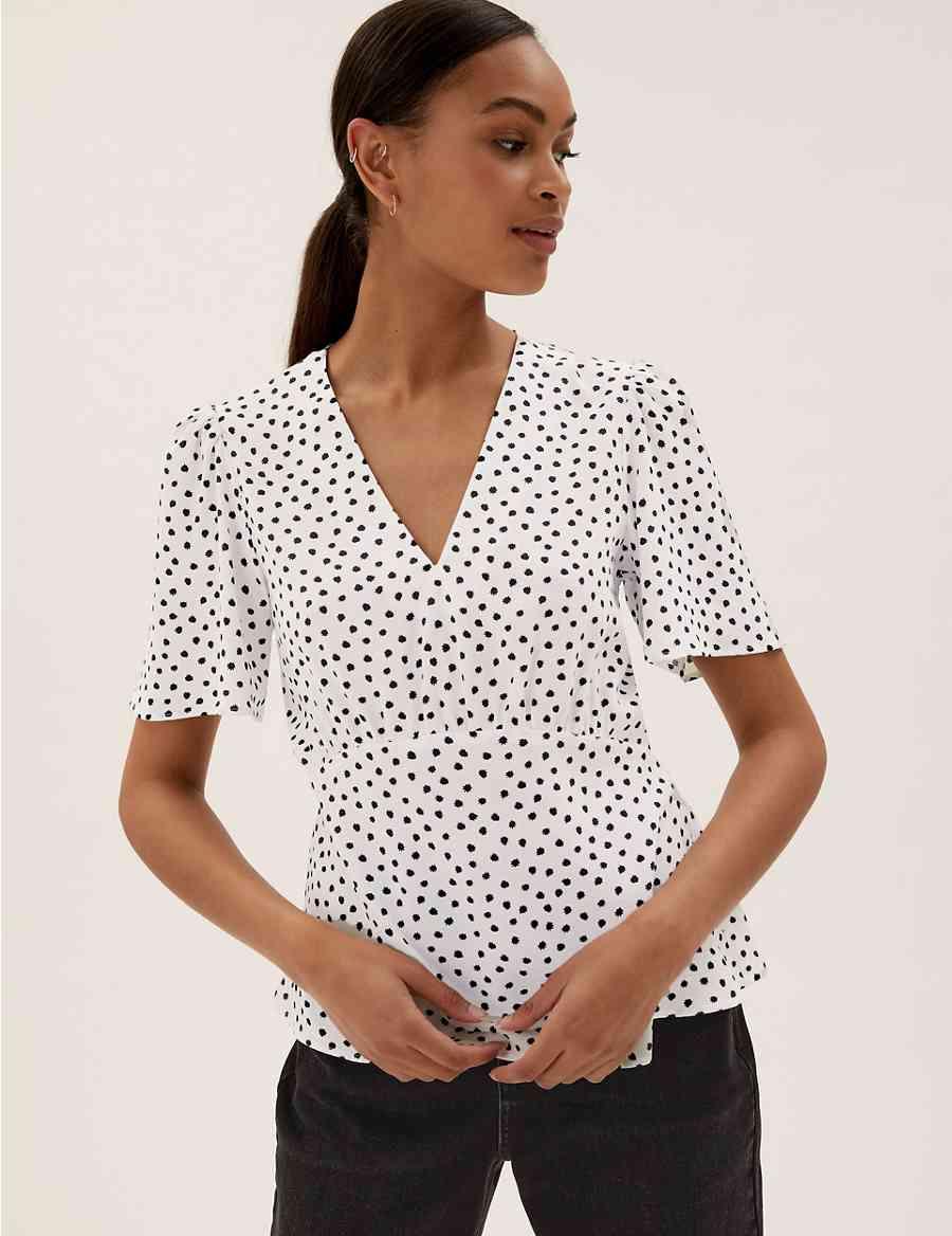 216b825ab99 Linen Rich Floral Print Long Sleeve Shirt
