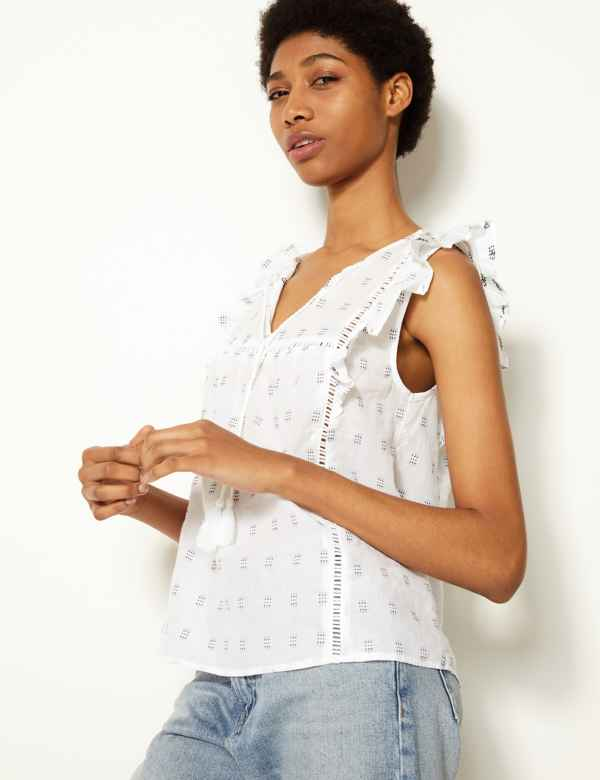 9980d1cd82f Womens White Shirts   Blouses