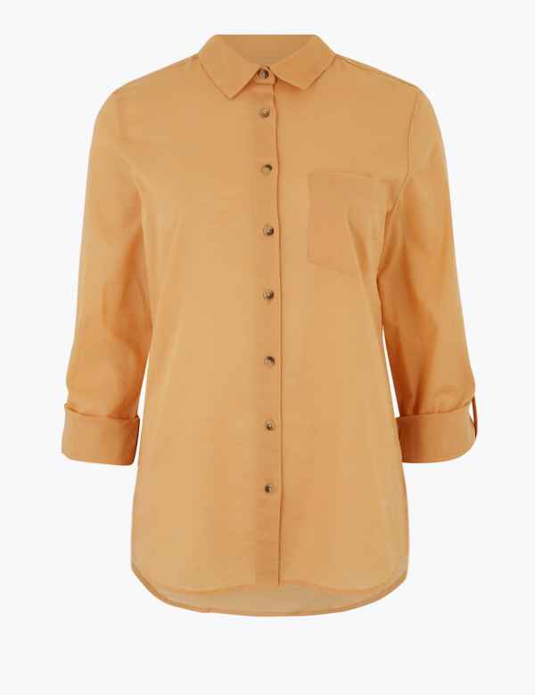 Women Silk Blend Blouse Lace Shirt Top Vest Multi Relaxed Casual Work Wear Cute