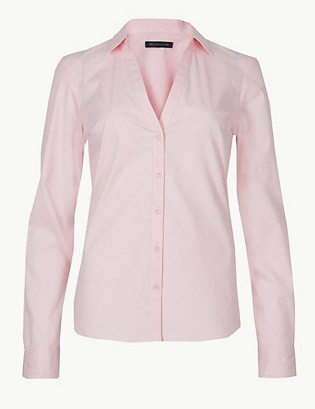 Cotton Rich 3/4 Sleeve Shirt