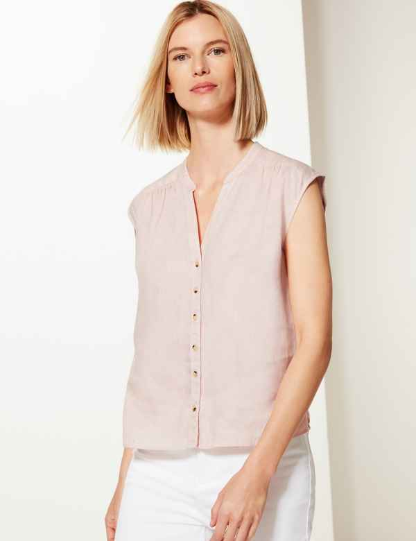 93e53bb2ce Womens Linen Clothing | Ladies Linen Suits & Tunics | M&S